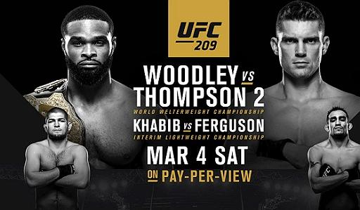 (MMA) UFC 209 Preview