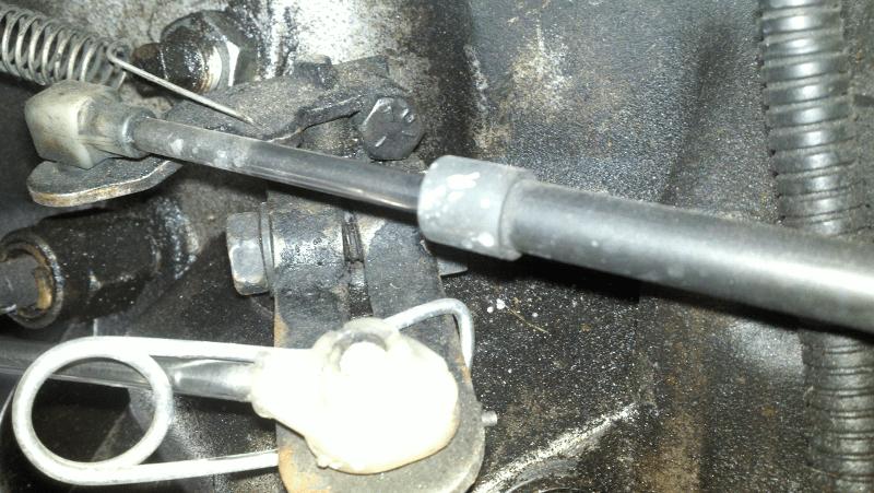 2000 Dodge Dakota Durango Transfer Case Shifter Control Rod Bushing