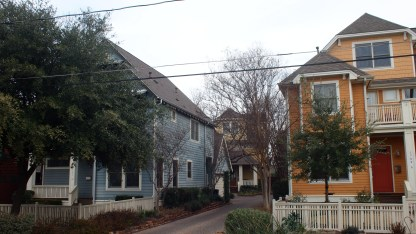 Four large S/F homes, spread across two lots