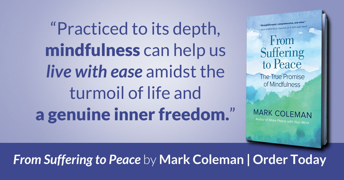 Free Talk On Mindfulness Practice For >> Mark Coleman Mindfulness Meditation Teacher
