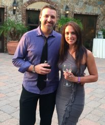 Wife & I - Wine Tasting