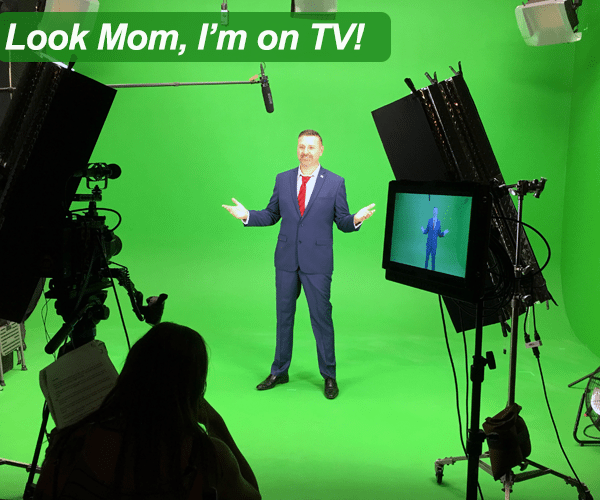 Look mom, I'm on TV!