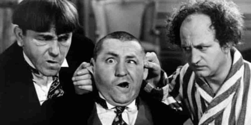 DO YOU KNOW IN WHICH ORDER THE THREE STOOGES GO?
