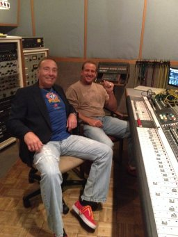 Billy and I at the Neve