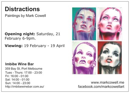 Save the date – Distractions opening