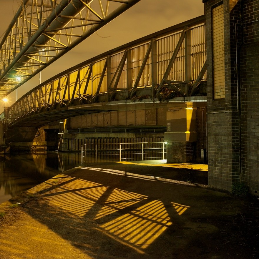 David George 2015. Hackney by Night.