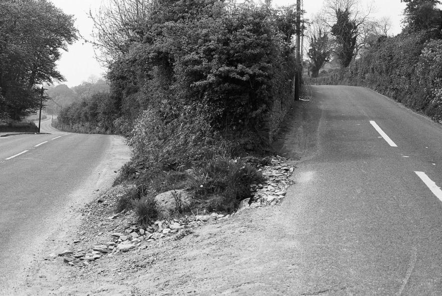 Willie Doherty 2010. 'A Fork in the Road'.