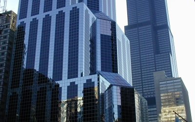 One South Wacker and Sears Tower, Chicago