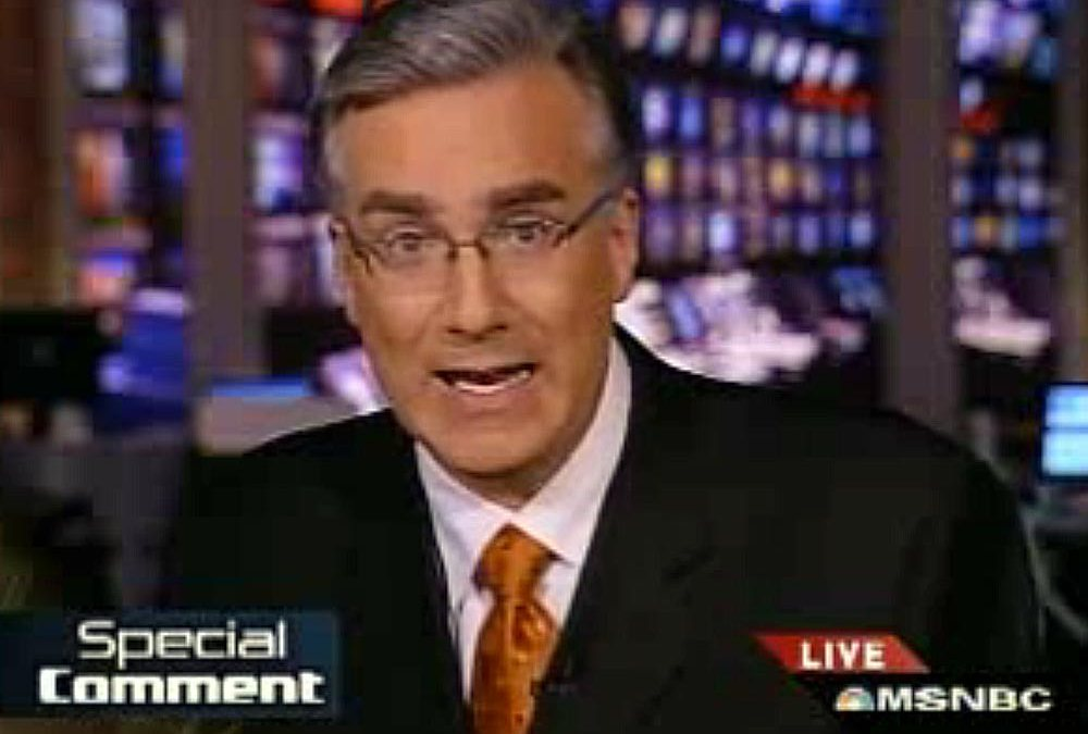 Keith Olbermann's special comments