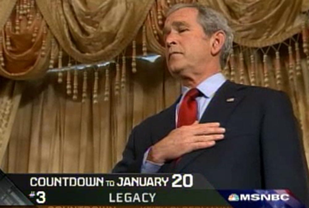 George W. Bush legacy: 8 years in 8 minutes, by Keith Olbermann