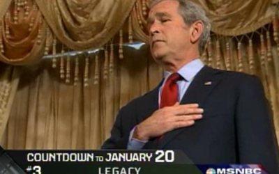 George W. Bush legacy: 8 years in 8 minutes, by Keith Olbermann