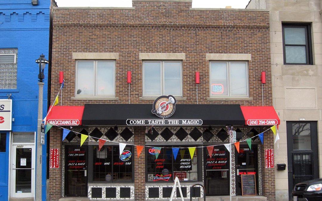 Magic Dann's restaurant, Bay View, Milwaukee