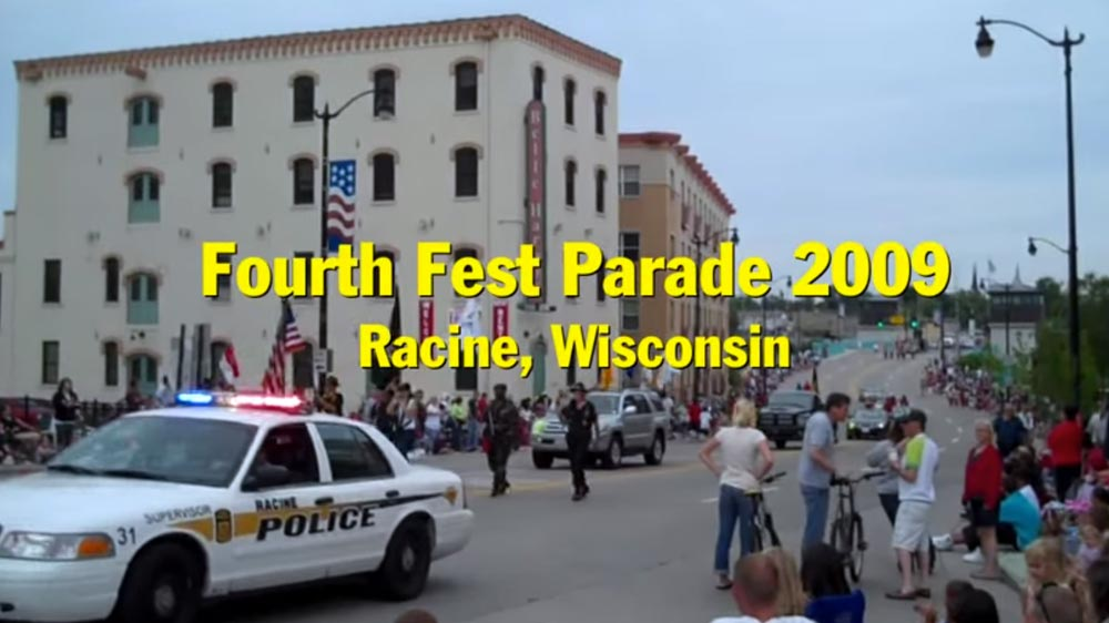 4th of July parade video: Racine, Wisconsin 4th Fest Parade