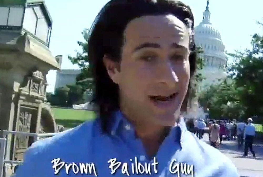 FedEx vs. UPS: 'Brown Bailout Guy'
