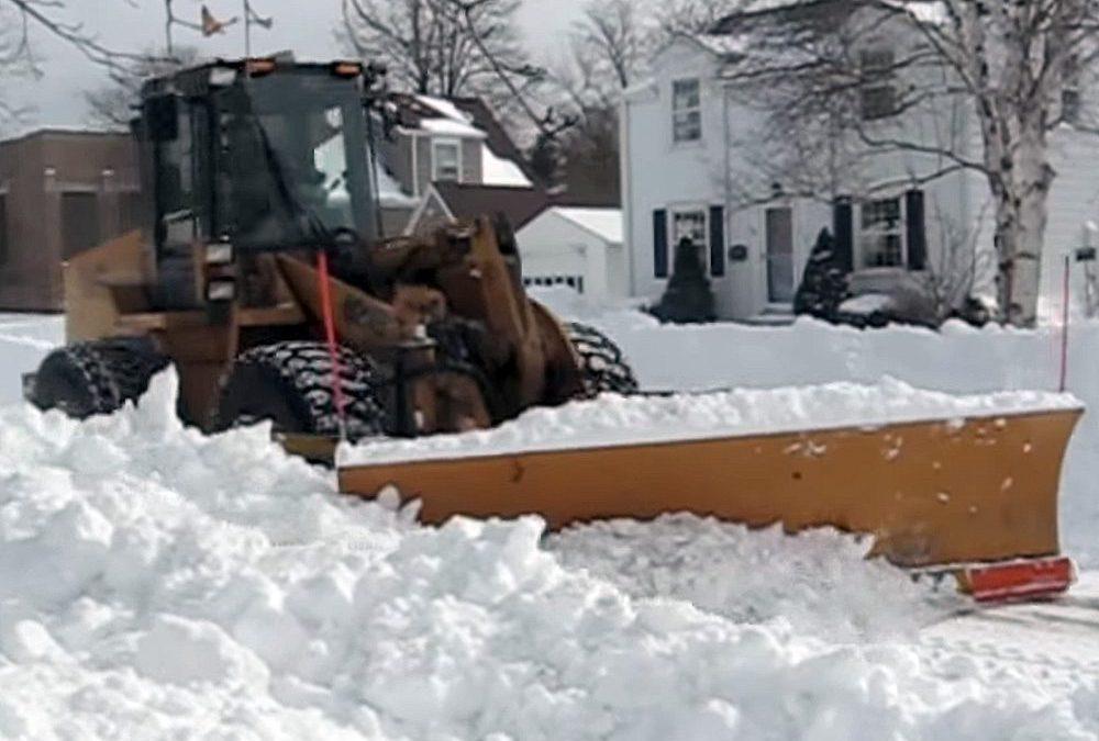 Blizzard of 2011: Snow storm video, Racine, Wisconsin