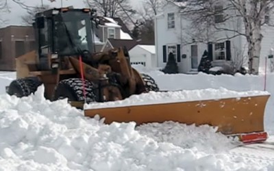 Blizzard of 2011: Snow storm video, Racine, Wisconsin