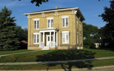 Racine history: 1861 Joshua Pierce home