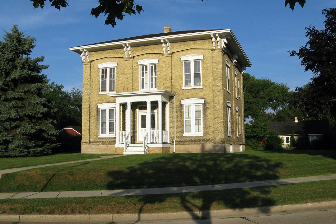Historic Joshua Pierce house, 2800 Taylor Ave., Racine, Wisconsin