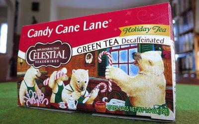 How to sleep: Candy Cane Lane tea by Celestial Seasonings