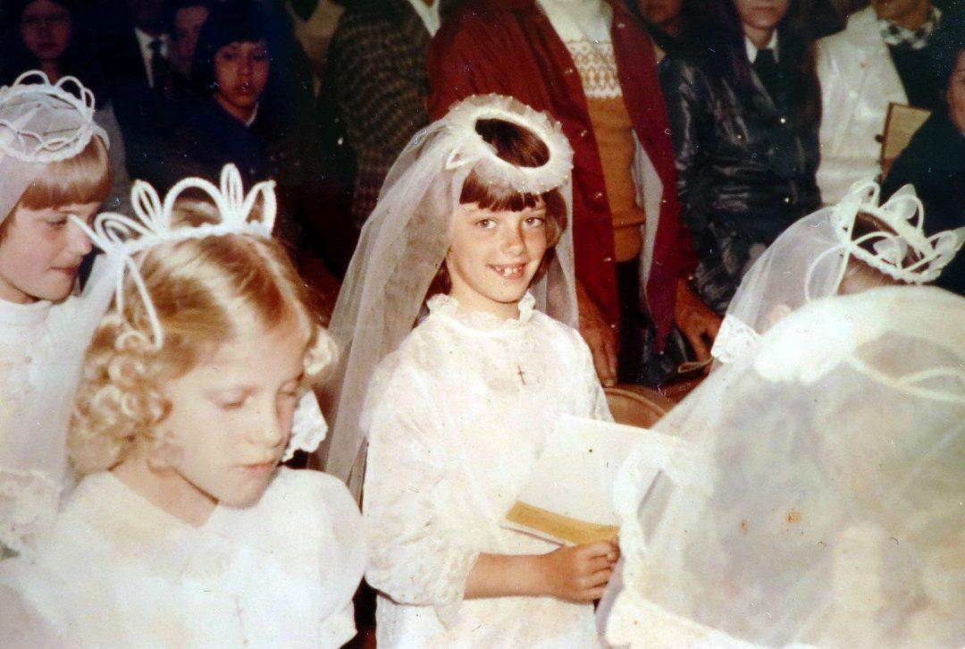 First Communion, Amy Dibble, St. Mary's Catholic Church, Kenosha, WI