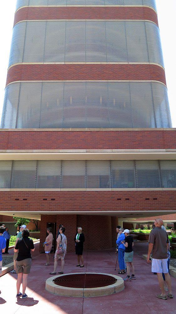Frank Lloyd Wright's SC Johnson Research Tower, Racine, Wisconsin