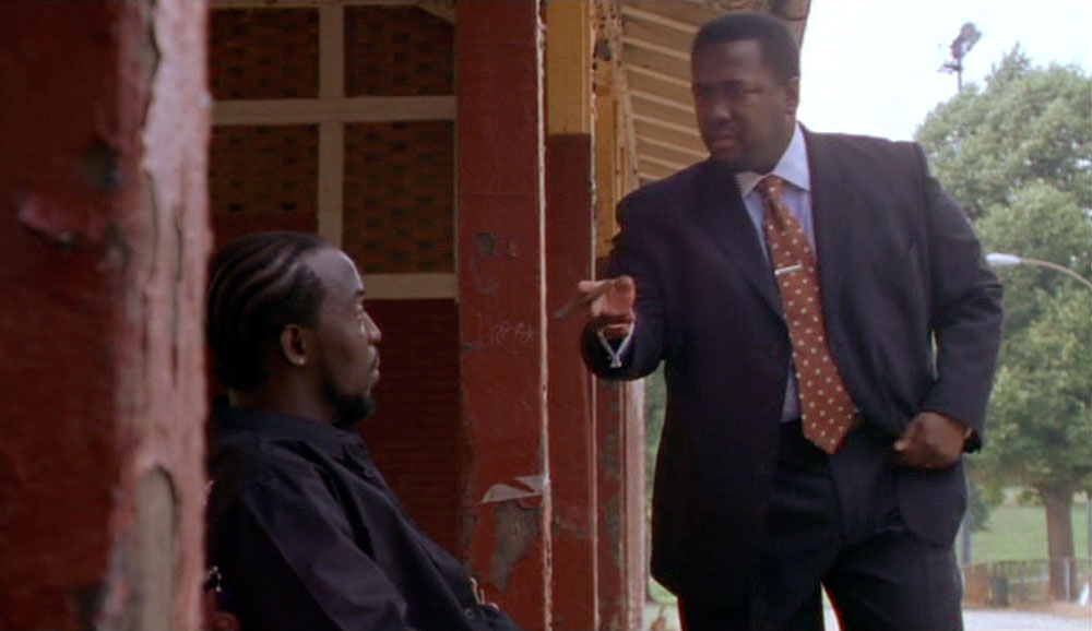 The Wire (HBO): Michael K. William as Omar Little, Wendell Pierce as Bunk Moreland