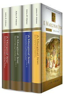 A Marginal Jew: Rethinking the Historical Jesus, by John P. Meier (4 volumes)