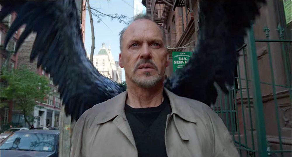 'Birdman' (2014 movie, Michael Keaton, Emma Stone)