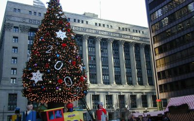 Chicago Christmas tree, 1999