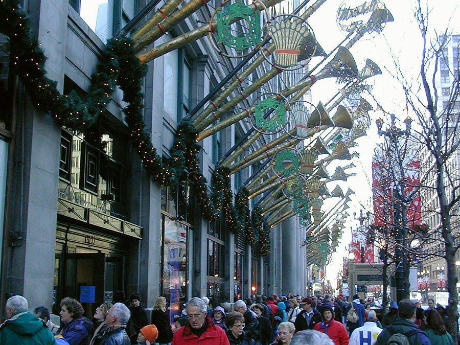 Marshall Field's on State Street, Christmas