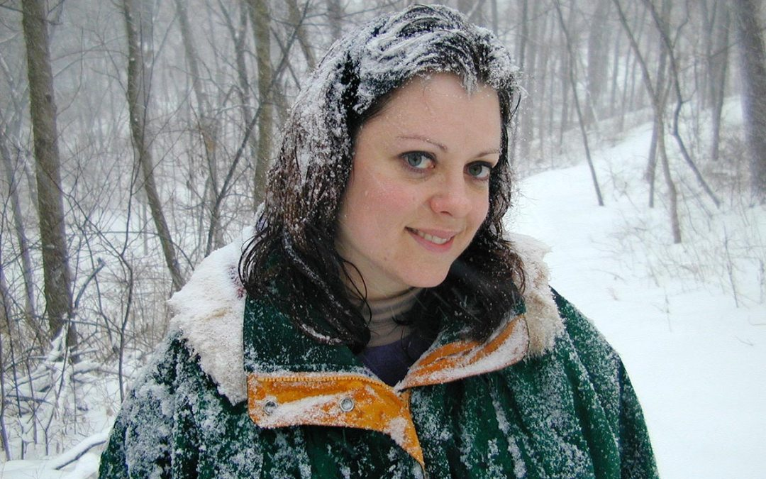 Snow-covered Amy