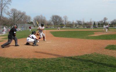 Baseball game: Sheridan Park, Cudahy, Wisconsin