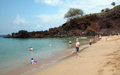 Black Rock on Kaanapali Beach, Maui, Hawaii
