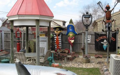 Hamburglar, Captain Crook: Cudahy, Wisconsin backyard