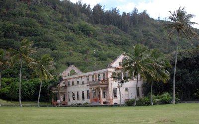 State school ruins, Kamehameha Highway