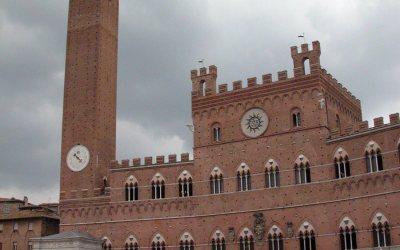 Torre del Mangia and Palazzo Pubblico, Siena, Italy