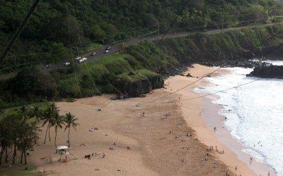 Waimea Bay: Waimea Beach Park, Haleiwa, Hawaii