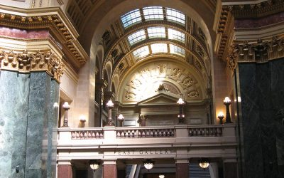Wisconsin capitol building, Madison: East gallery