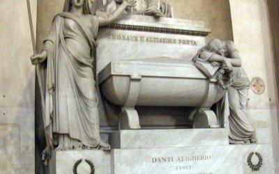 Dante Alighieri cenotaph, Santa Croce, Florence
