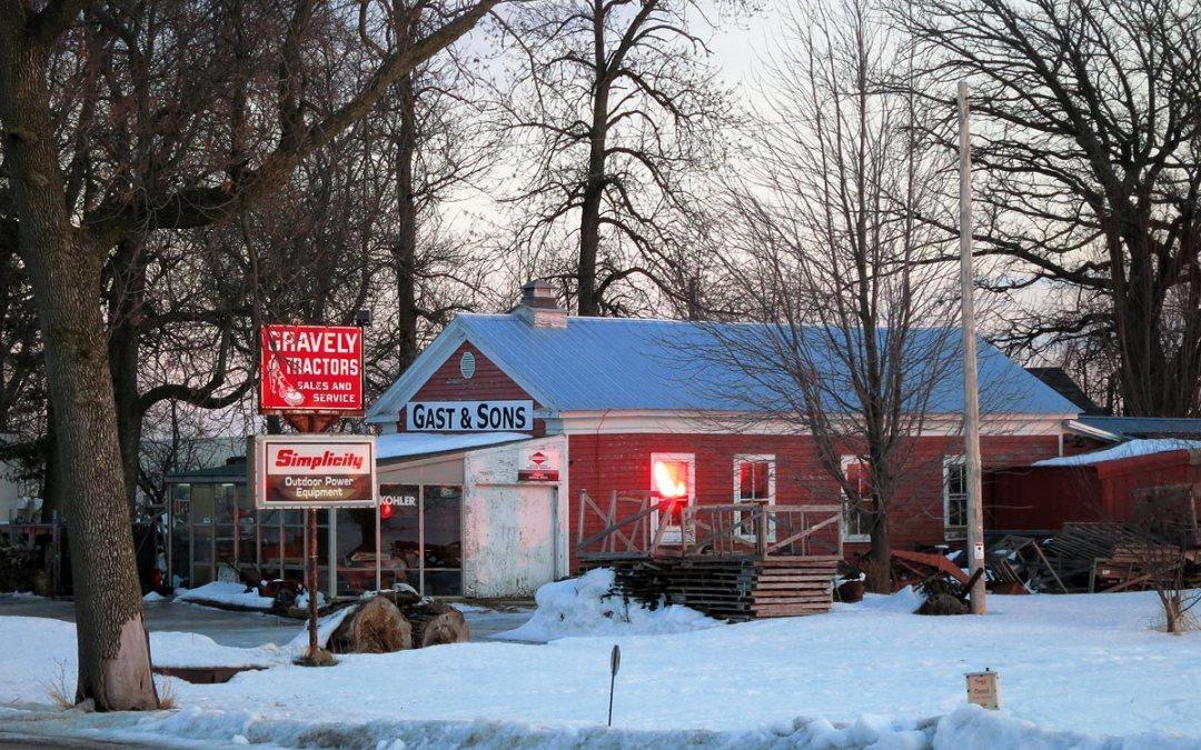 Gast & Sons power equipment, Caledonia, Wisconsin