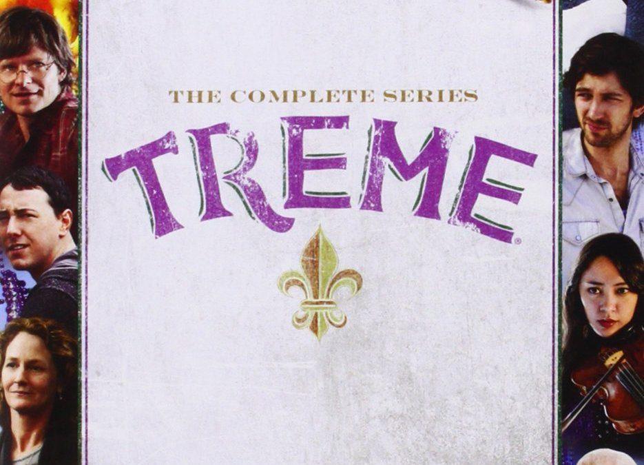 'Treme' (HBO series in New Orleans, 3 1/2 seasons)