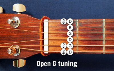 Open G guitar tuning: From Keith Richards to Hawaiian Slack Key guitar