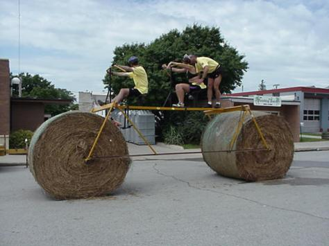 Hey, a hay bike!