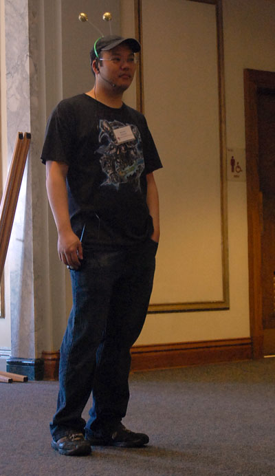 Mark Danger Chen at GLS2010