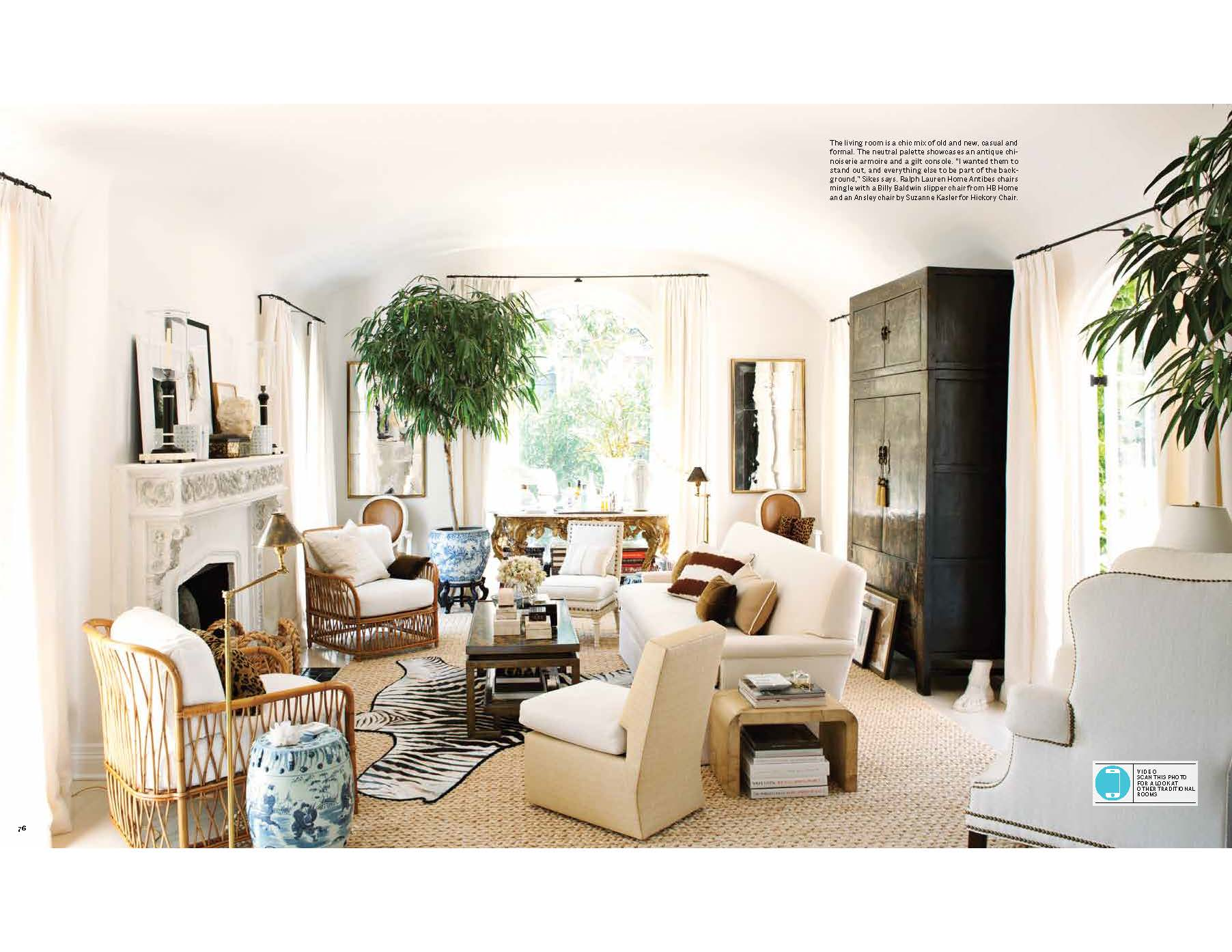 house beautiful living room ideas painting my mark d sikes