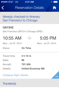 United S Iphone App United Airlines Flight Change For Free