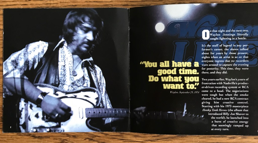 One reason Waylon became a hero to many Americans in the Seventies.