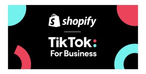 ShopifyとTikTokが日本での提携を発表