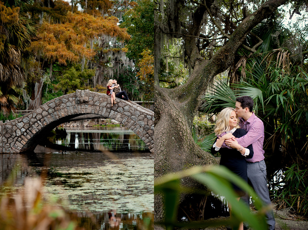 Brittney And Joshua S New Orleans City Park Engagement