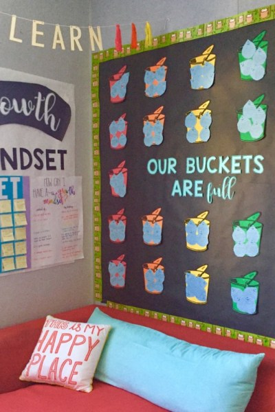 bulletin board growth mindset